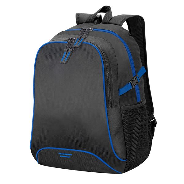 Picture of OSAKA BACKPACK  7677 Black/ Royal