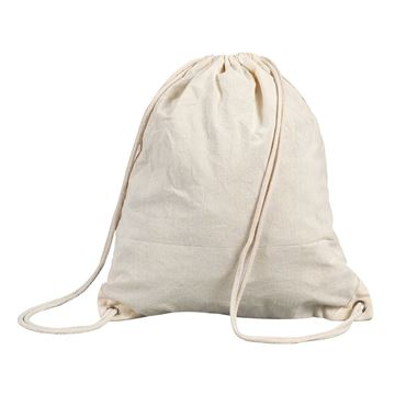Picture of STAFFORD COTTON DRAWSTRING BACKPACK 5895