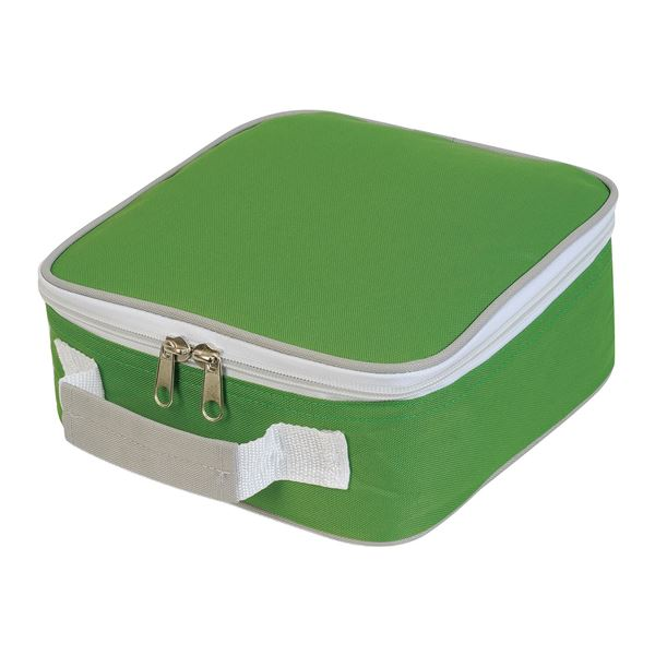 Picture of SANDWICH COOLER BAG 1808 Lime/ Light Grey