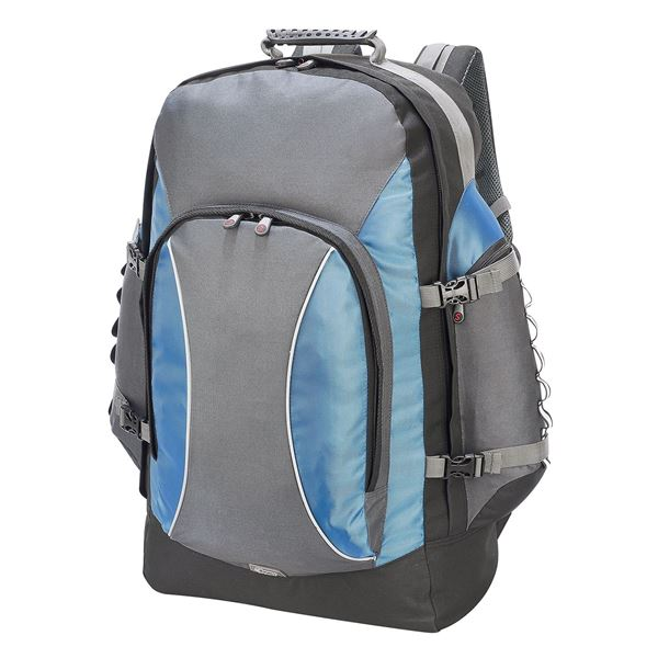 892 RUCKSACK  Dark Grey/Petrol/Black