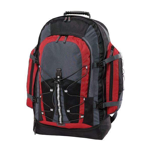 حقيبة ظهر تريب 898 رمادي داكن/ أحمر