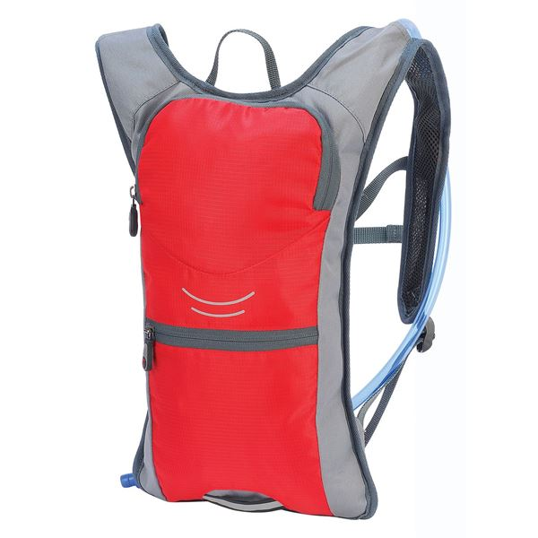 Picture of SAHARA HYDRATION BACKPACK 1166 Red/ Grey