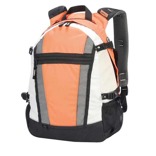 Picture of INDIANA BACKPACK 1295 Orange/Off-White