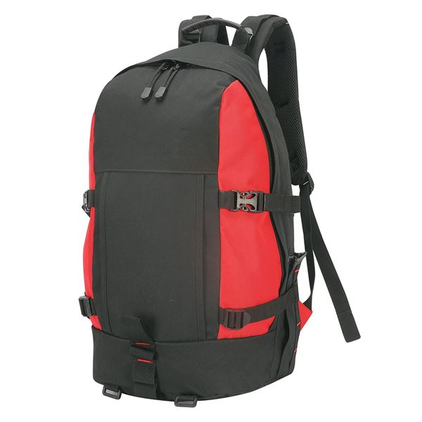 Picture of GRAN PARADISO RUCKSACK 1788 Black/ Red