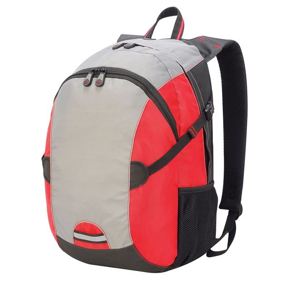 Picture of LIVERPOOL BACKPACK  7696 Grey/Red/Black