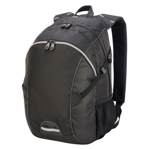 Picture of LIVERPOOL BACKPACK  7696 Black/ Black Dotted