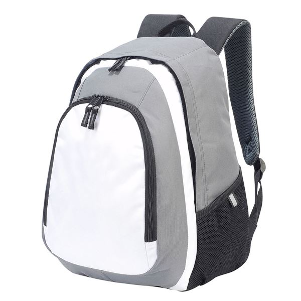 Picture of GENEVA BACKPACK 7241 White/ Grey