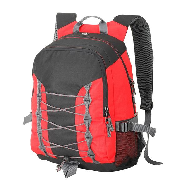 Picture of MIAMI ESSENTIAL BACKPACK 7690 Black/ Red