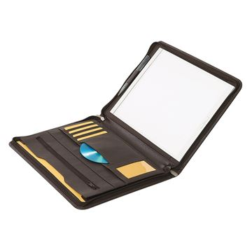 Image de NAPPA LEATHER A4 ZIPPED FOLDER 10.102.441