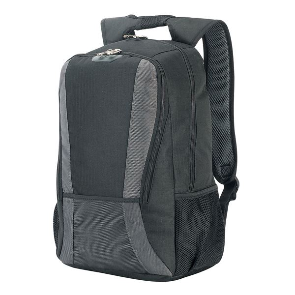 Picture of LAPTOP BACKPACK 5325 Black/Dark Grey