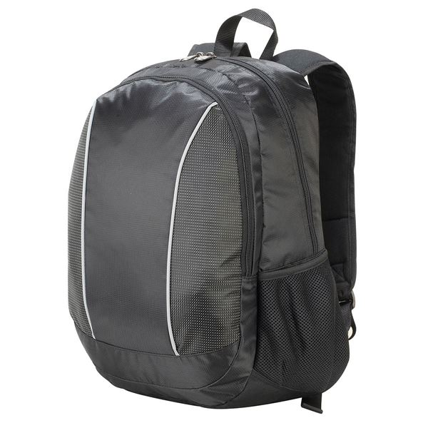 Picture of ZURICH LAPTOP BACKPACK 5343 Black/black Dotted