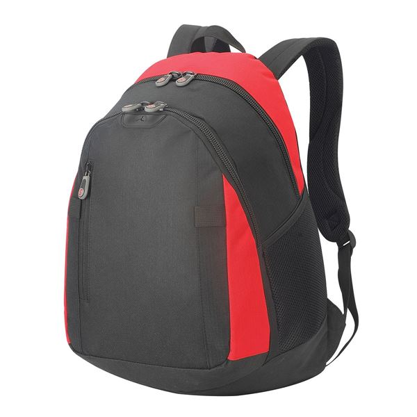 Picture of FREIBURG LAPTOP BACKPACK 5363 Black/ Red
