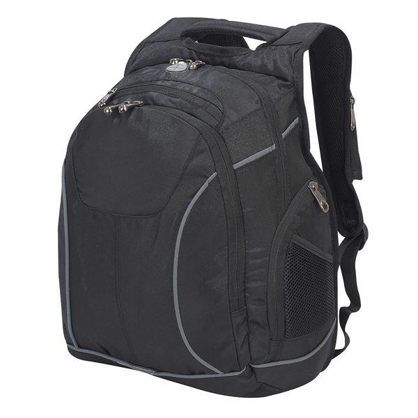 """حقيبة الظهر للكمبيوتر المحمول  """"تورونتو"""" 5824 أسود"""