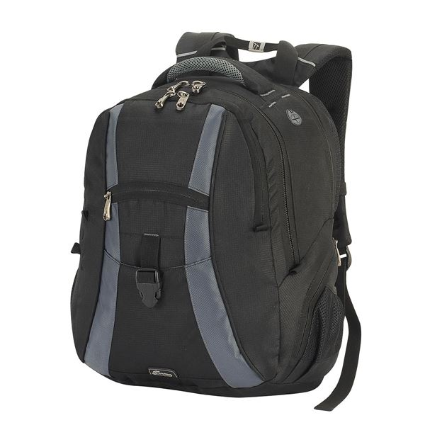 Picture of LAPTOP BACKPACK 5860 Black/Dark Grey