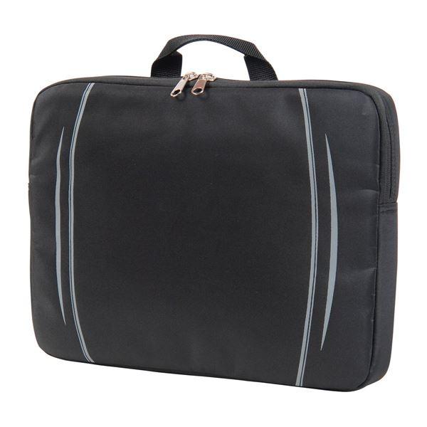 """حقيبة يد لأجهزة الكمبيوتر المحمول """"مين"""" 6451 أسود"""