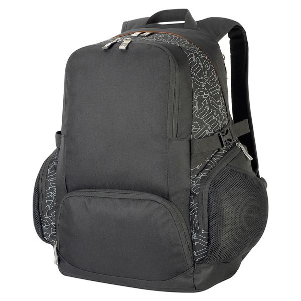 Picture of LONDON LAPTOP BACKPACK  7700 Black