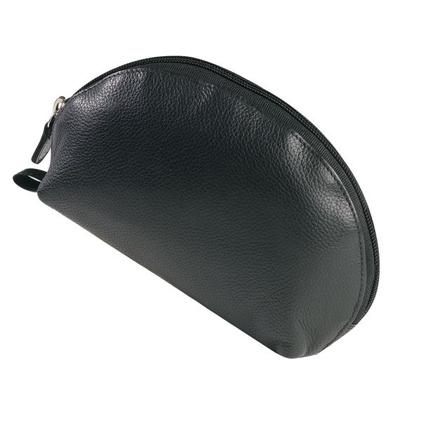 Picture of NAPPA LEATHER MAKEUP BAG 15.611.310 Black