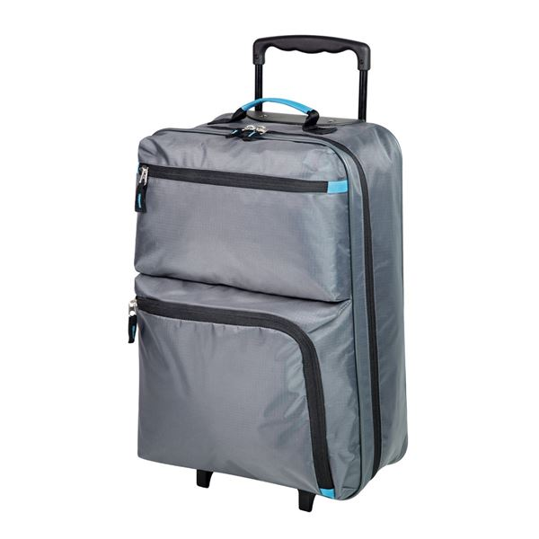 Bild von TWO WHEELS TROLLEY   2491 Dark Grey/Turquoise