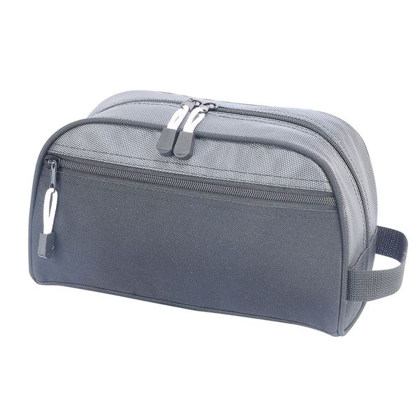 Picture of BILBAO TOILETRY BAG 4450 Black/Dark Grey