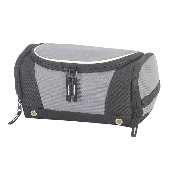 Picture of TOILETRY BAG 4470 Dark Grey/Black