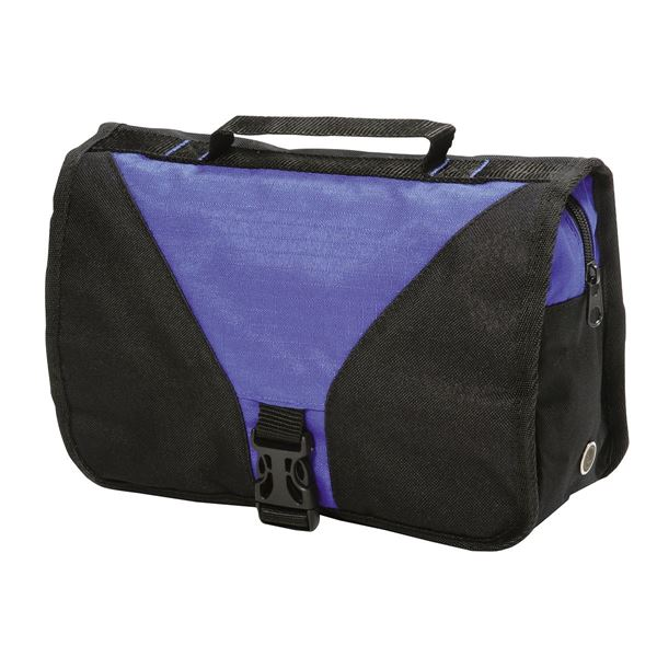 Picture of BRISTOL TOILETRY BAG 4476 Royal/Black