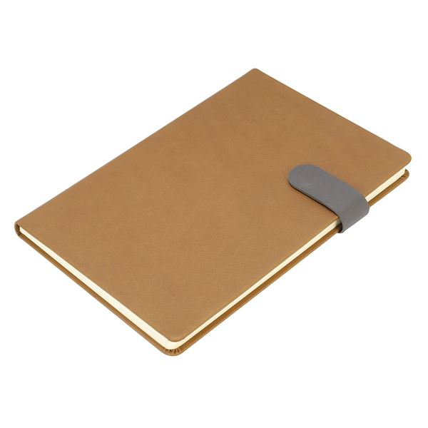 Picture of VENICE A5  PU NOTEBOOK 9010 Brown