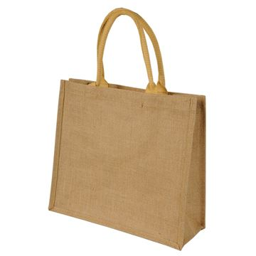 Picture of CHENNAI SHORT HANDLED JUTE SHOPPER BAG 1107