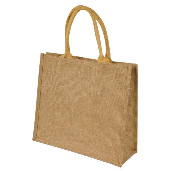 """حقيبة المتسوق المصنوعة من ألياف الجوت المعالج لمدة قصيرة  """"تشيناي"""" 1107 طبيعي"""