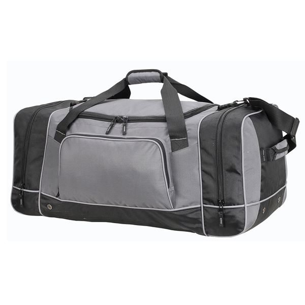 "حقيبة يد ضخمة  ""شيكاغو"" 2698 رمادي/أسود"