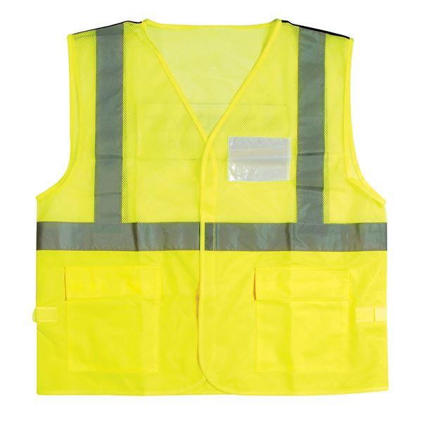 Bild von GROUND CREW VEST 11-5500  Hi-Vis Yellow S