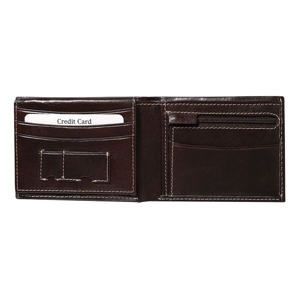 Picture of 13.401.141  LEATHER WALLET  Dark brown