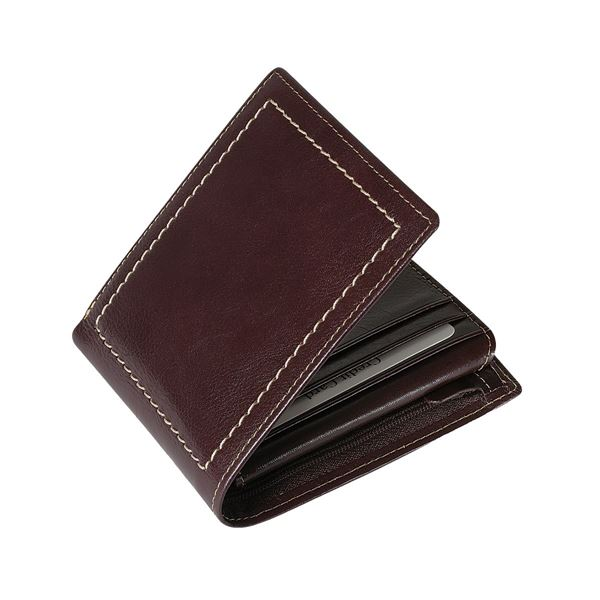 Picture of 13.400.141 LEATHER WALLET Dark Brown