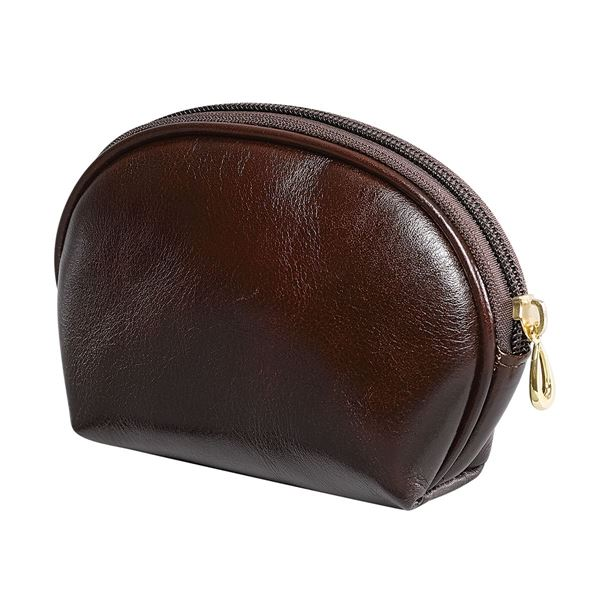 Bild von  LEATHER COSMETICS BAG 15.604.141 Dark Brown