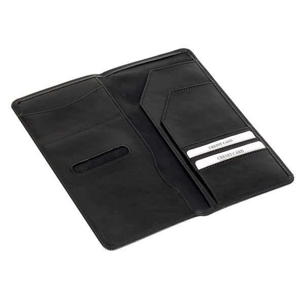 Bild von PU TRAVEL WALLET 17.806.910 Black