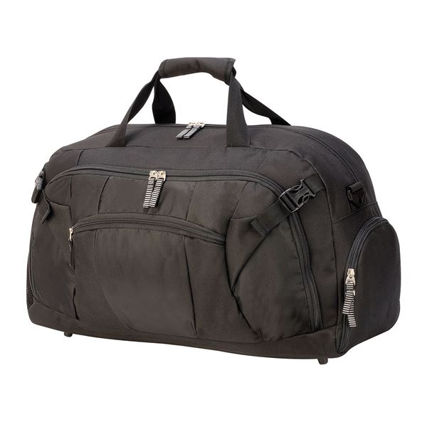 1680 SPORTS  HOLDALL Black