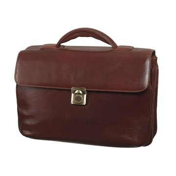 Image de LEATHER LAPTOP BRIEFCASE 11.202.740