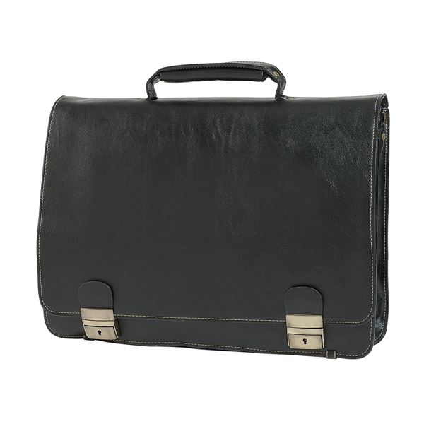 Picture of PU LAPTOP BRIEFCASE 11.210.910 Black