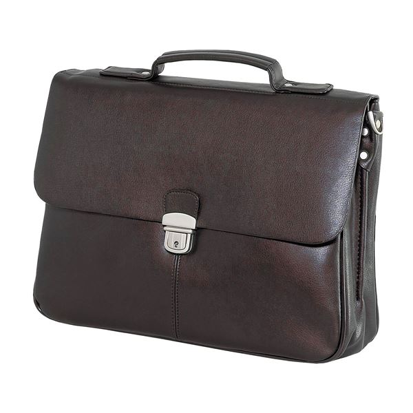 Image sur PU LAPTOP BRIEFCASE 11.218.941 Dark Brown