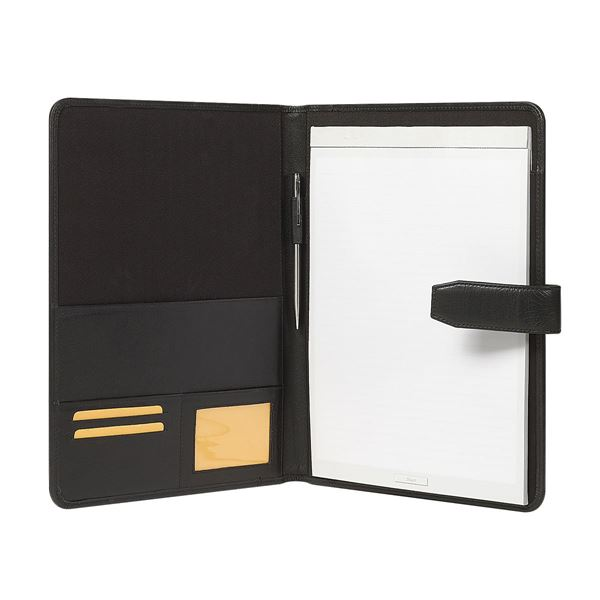 Picture of NAPPA LEATHER A4 FOLDER 10.101.410 Black