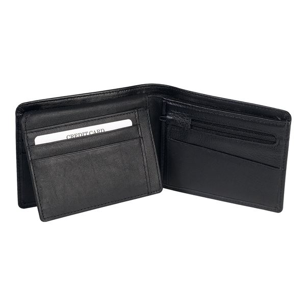 Picture of 13.402.310 NAPPA LEATHER WALLET Black