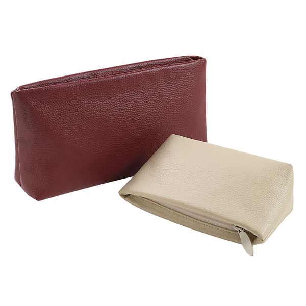 Picture of PU TOILETRY BAG 15.600.930 Red