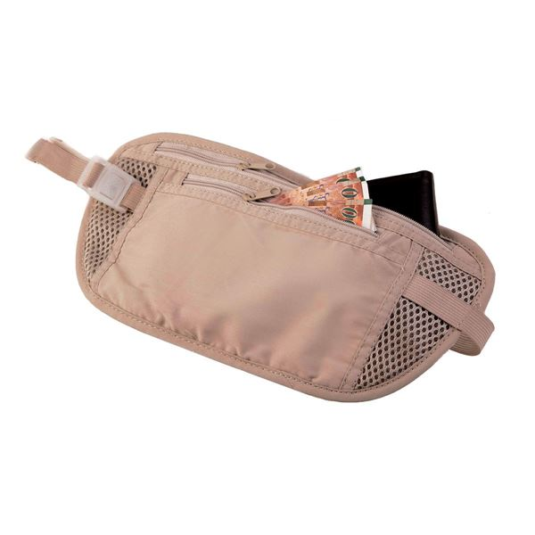 Image sur 3302 TRAVEL MONEY BELT  Natural