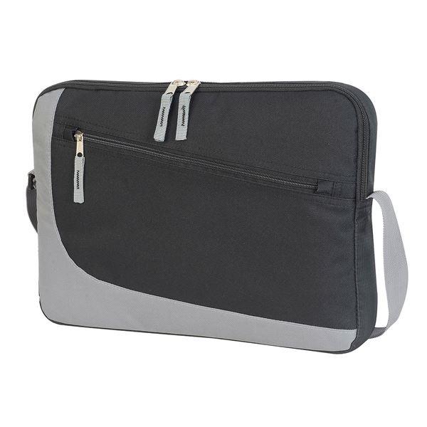Picture of OSLO II CONFERENCE BAG 1443 Black/Grey