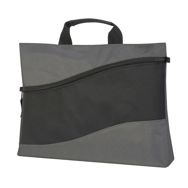 Picture of LILLE ENVELOPE BAG 1444 Black/Dark Grey