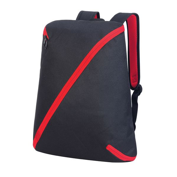 Picture of NAGOYA BACKPACK 7657 Black/Red