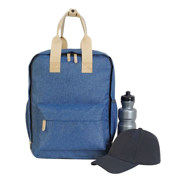 Picture of  7693  NOTTINGHAM BACKPACK Denim Melange