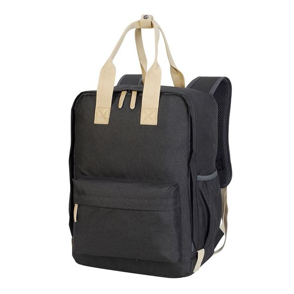 Picture of  7693  NOTTINGHAM BACKPACK Charcoal Melange