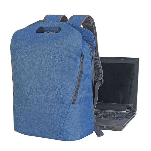 Immagine di SALZBURG LAPTOP BACKPACK 5808 Denim Blue Melange