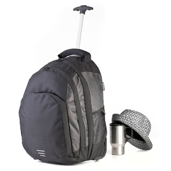 Picture of CARRARA II TROLLEY BACKPACK 1421 Black