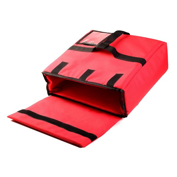Image sur  89-1006 PIZZA DELIVERY CASE Red/Black